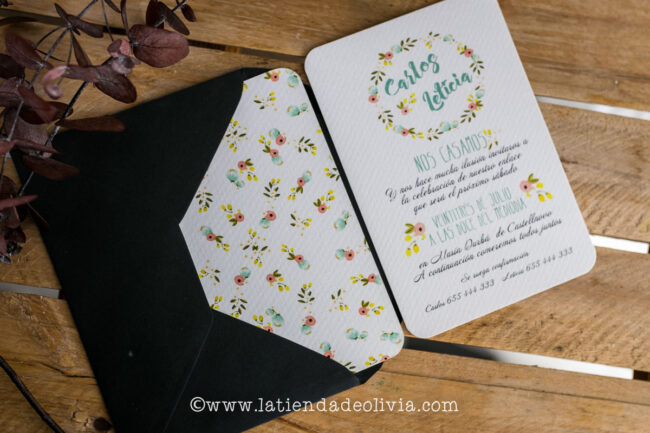 Invitaciones de boda Girona