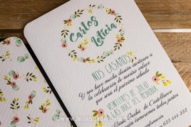 Invitaciones para bodas en Toledo