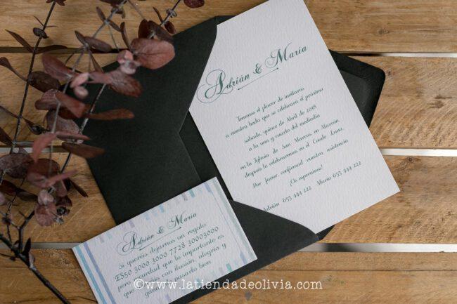 Invitaciones de boda Gijón