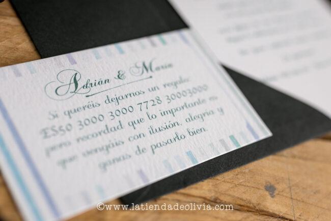 Invitaciones, tarjetas boda, Bizkaia - Vizcaya