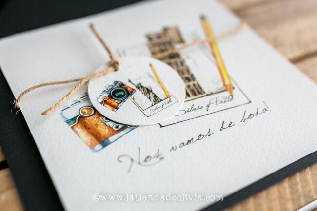 Invitaciones de boda originales, Bilbo - Bilbao