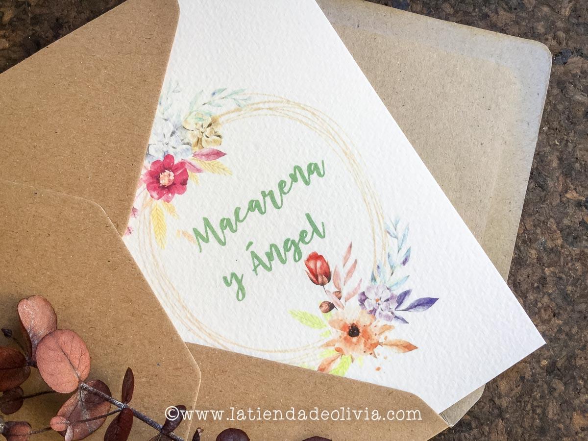 Invitaciones de boda Guadalajara