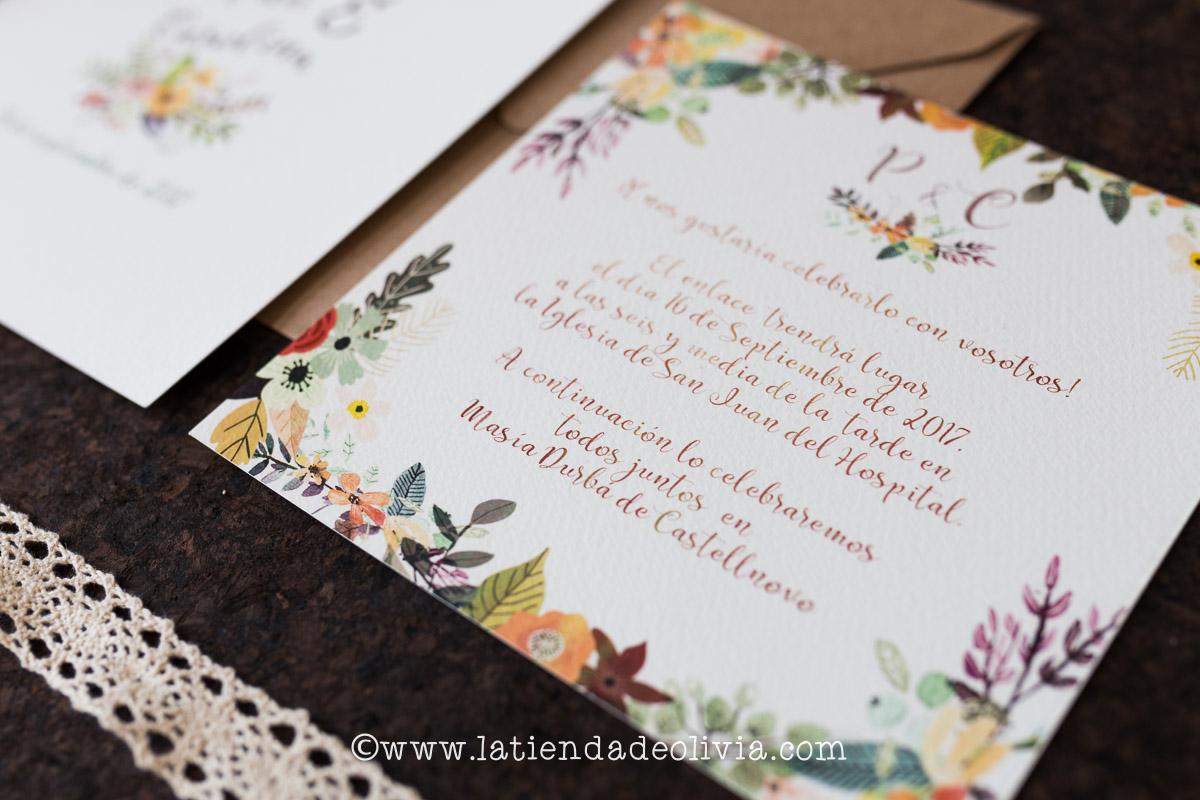 Tarjetas para bodas Logroño