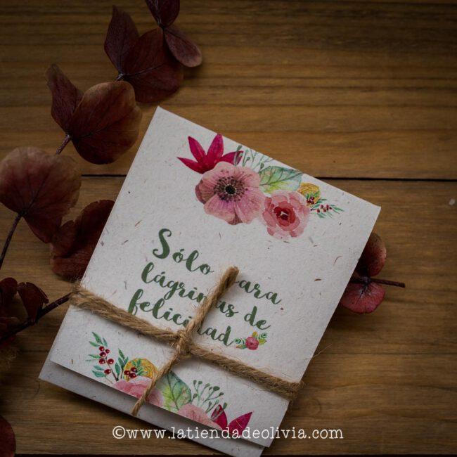 Invitaciones y papelería de boda en Málaga