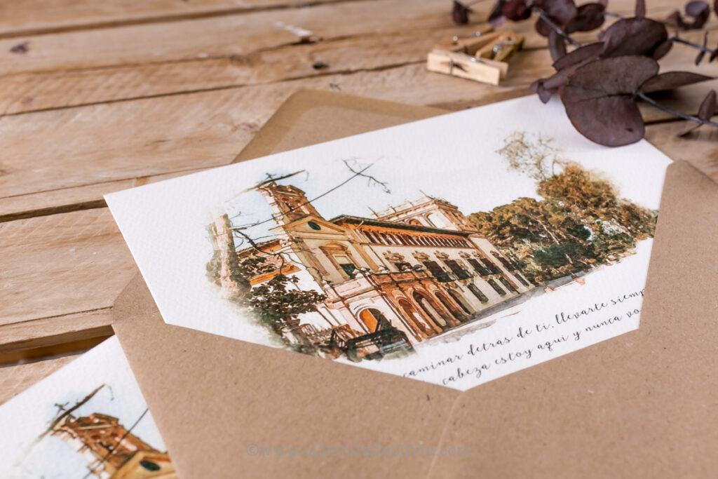 Invitaciones de bodas en Madrid
