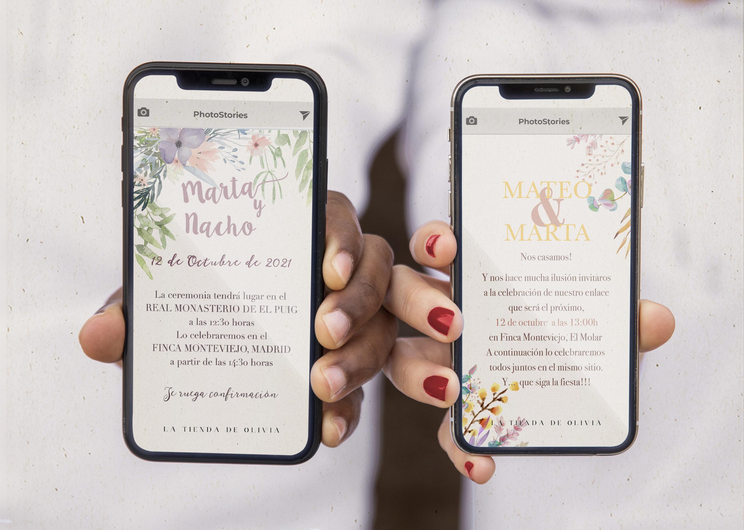 invitacion de boda digital